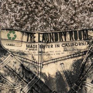 The Laundry Room Shorts - The Laundry Room Denim Shorts LARGE NWOT